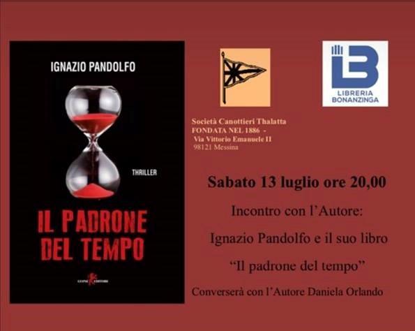 Ignazio Pandolfo incontrerà i lettori